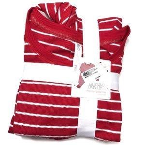 Reposh Gilligan & O'Malley Red Striped Pajama Set